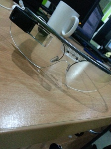 Google Glass in my Table