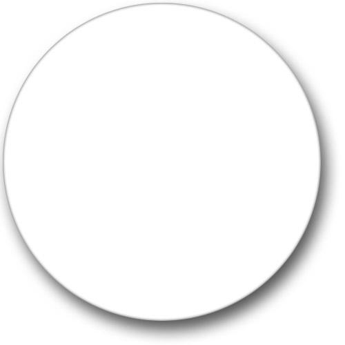 round-white-label-l